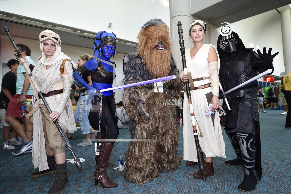 inVision Denis Poroy/Invision/AP A ENT CA USA INVW 2016 Comic-Con - Day 1