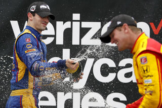Alexander Rossi, Ryan Hunter-Reay