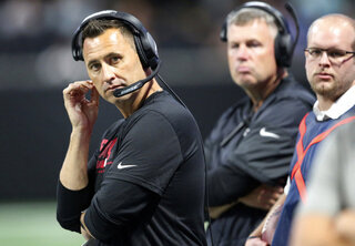 Falcons Sarkisian Football