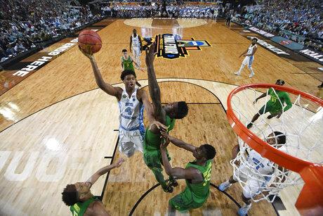 Final Four Oregon North Carolina Basketball
