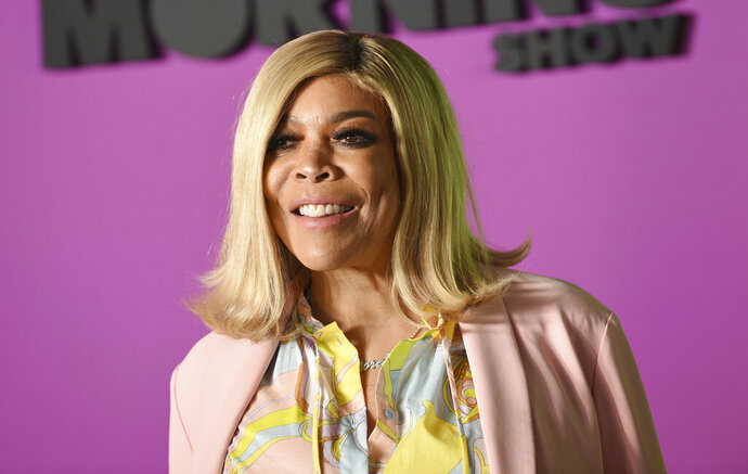 FILE - In this Oct. 28, 2019 file photo, Wendy Williams attends the world premiere of Apple TV+'s