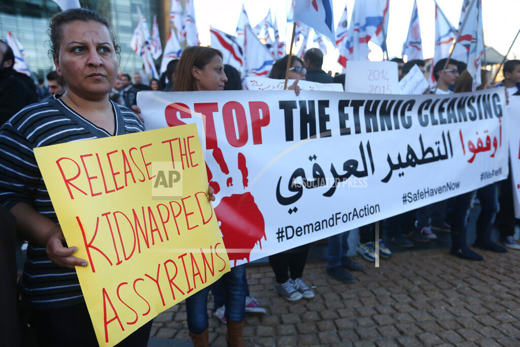 Mideast Lebanon Islamic State Assyrians