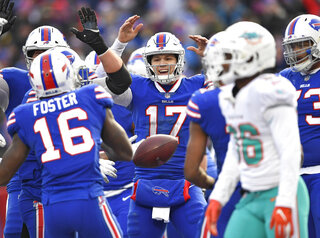 Dolphins Bills Football
