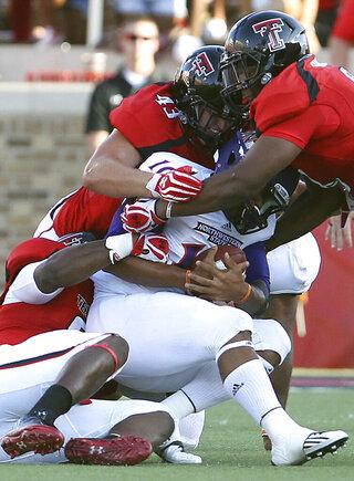 Texas Tech Getting Defensive Football