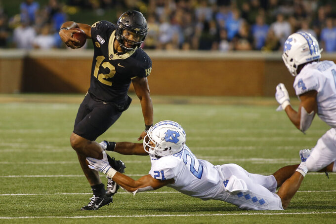 Wake Forest looks to continue unbeaten start against Elon