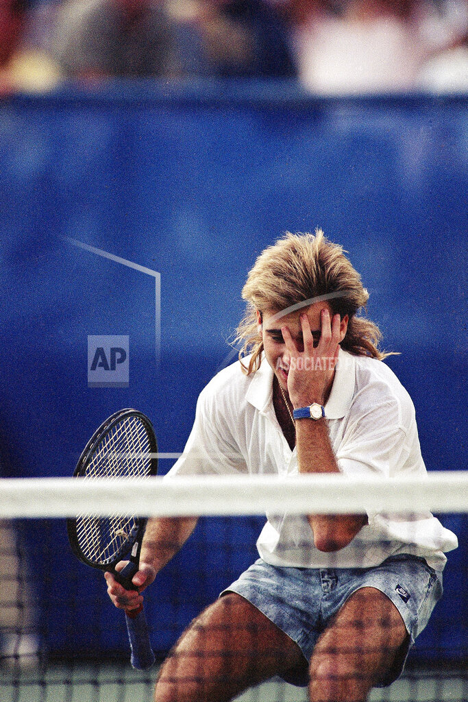 Watchf AP S TEN NY USA APHS322420 Andre Agassi