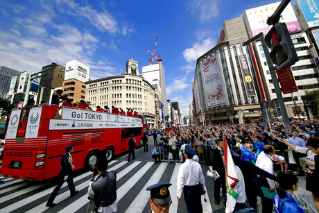 Japan Rio Olympics Parade