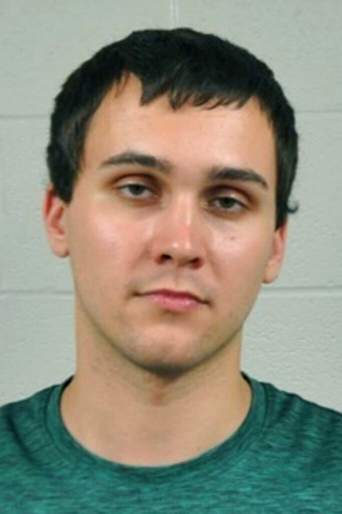 FILE - This undated file photo provided by the University of Maryland Police Department shows Sean Urbanski. A trial is scheduled to begin this week for Urbanski, charged with a hate crime in the 2017 fatal stabbing of a black college student on the University of Maryland's campus. (University of Maryland Police Department via AP, File)
