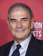 FILE - In this Nov. 8, 2018, file photo, Robert Forster arrives at the Patron of the Artists Awards at the Wallis Annenberg Center for the Performing Arts in Beverly Hills, Calif. Forster, the handsome character actor who got a career resurgence and Oscar-nomination for playing bail bondsman Max Cherry in