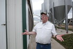 bDwight Mogler explains operations at his family's hog barns in Alvord, Iowa on July 9, 2021. He says the hog barns would need to be expanded to say in compliance with California's Proposition 12. (AP Photo/Stephen Groves)