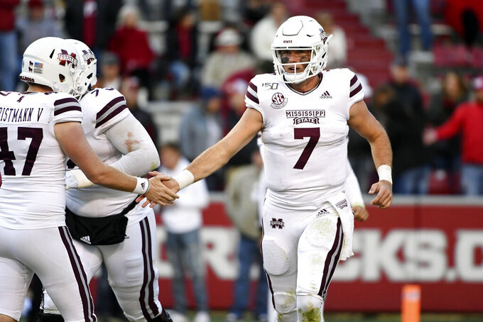 Mississippi State offense gearing up for major challenge