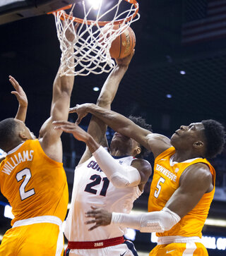 Tennessee Gonzaga Basketball