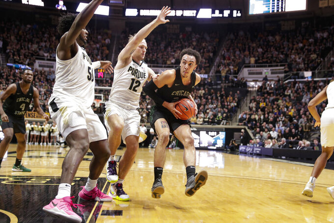 Purdue relies on defense to roll past Chicago St. 93-49