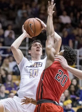 Northeastern James Madison Basketball