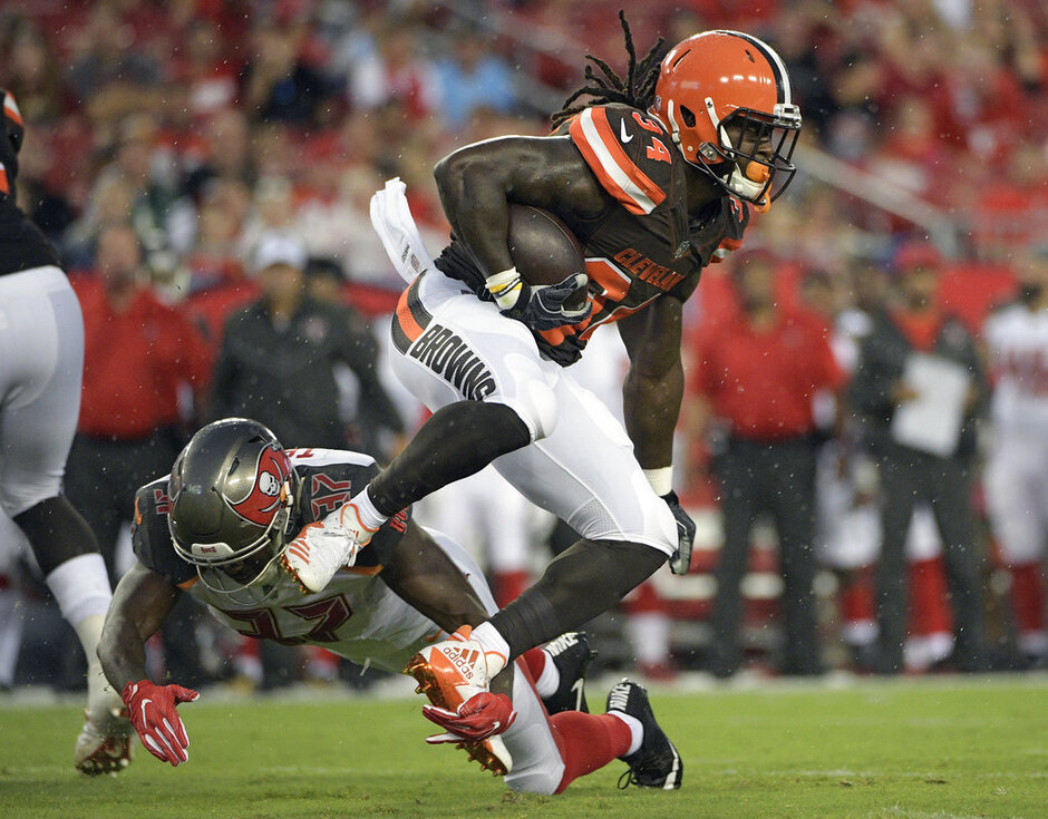 Isaiah Crowell, Keith Tandy