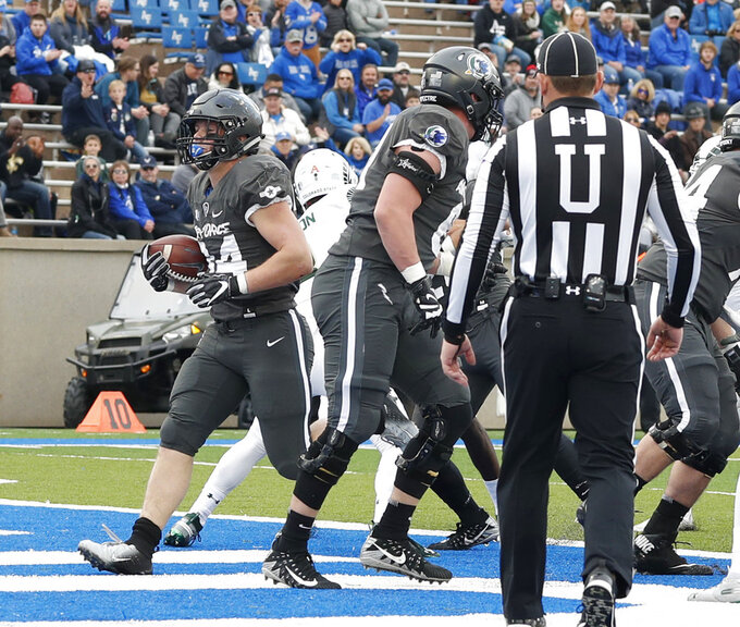 Fagan rushes for 260, Air Force beats Colorado State 27-19