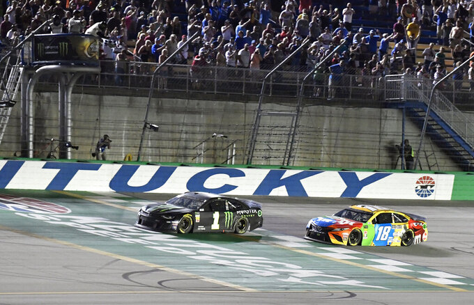 Column: Kurt Busch still wheelman 20 years into rocky career