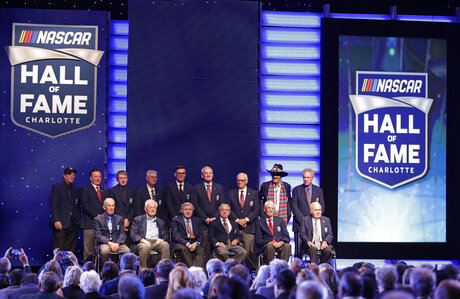 NASCAR Hall Of Fame Auto Racing