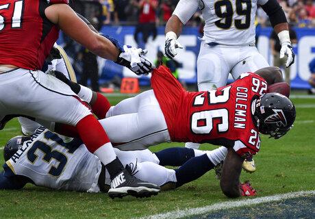Falcons Rams Football
