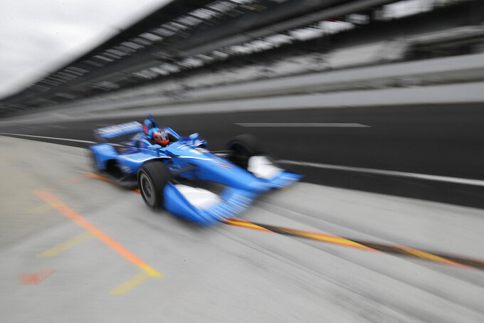 Rookie Rosenqvist claims 1st pole at IndyCar Grand Prix