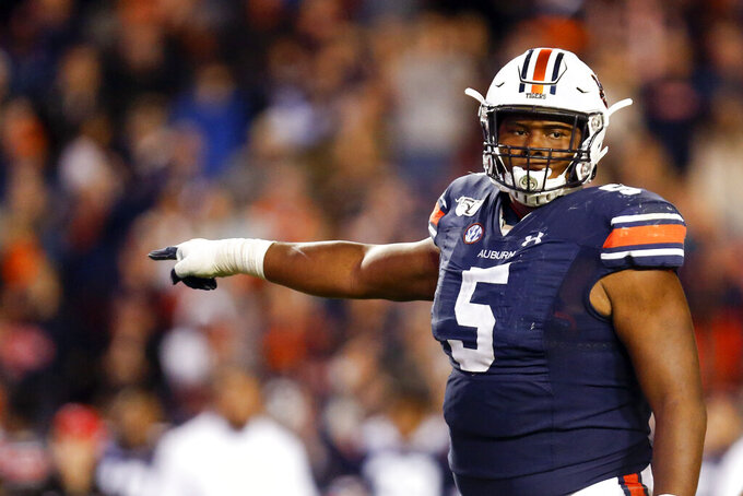 Malzahn: Auburn's Derrick Brown 'playing as good as anybody'