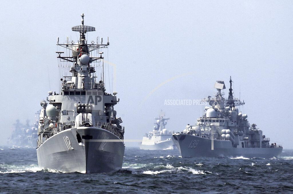 China Asia Arms Buildup