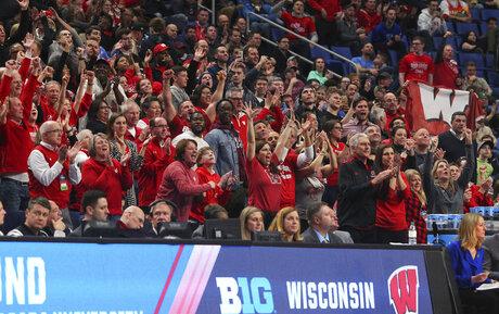 NCAA Wisconsin Virginia Tech Basketball