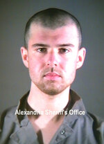 This January 2002 photo provided by the Alexandria Sheriff's Office in Alexandria, Va. shows John Walker Lindh. Lindh, the young Californian who became known as the American Taliban after he was captured by U.S. forces in the invasion of Afghanistan in late 2001, is set to go free Thursday, May 23, 2019, after nearly two decades in prison. (Alexandria Sheriff's Office via AP)