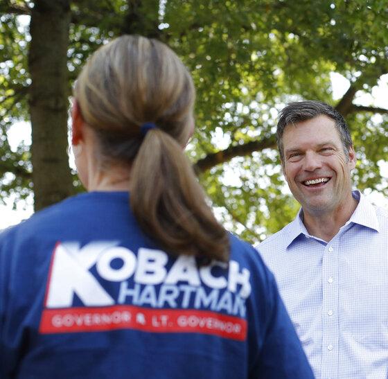 Kansas Governor Kobach