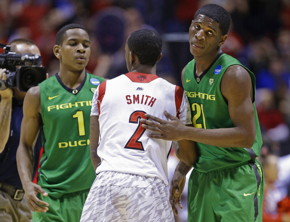 Dominic Artis, Damyean Dotson, Russ Smith
