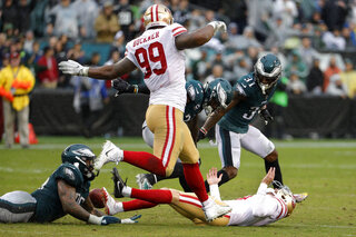 49ers Eagles Football