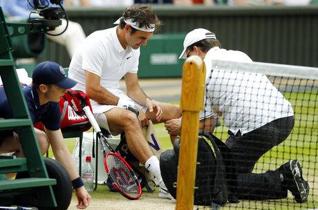 Federer Injured Tennis