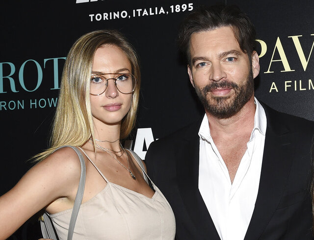 FILE - This May 28, 2019 file photo shows Singer Harry Connick Jr. with his daughter Georgia at a special screening of