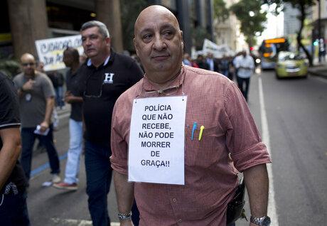 Brazil Penniless Police