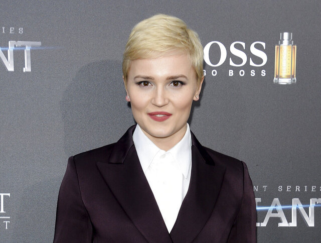 FILE - In this March 14, 2016, file photo, author Veronica Roth attends the premiere of