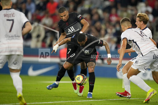 APTOPIX France Soccer League One