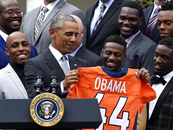 Barack Obama, Emmanuel Sanders