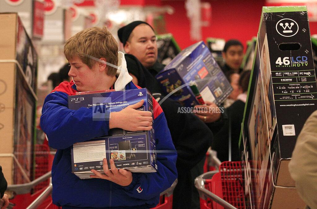 Holiday Shopping Black Friday