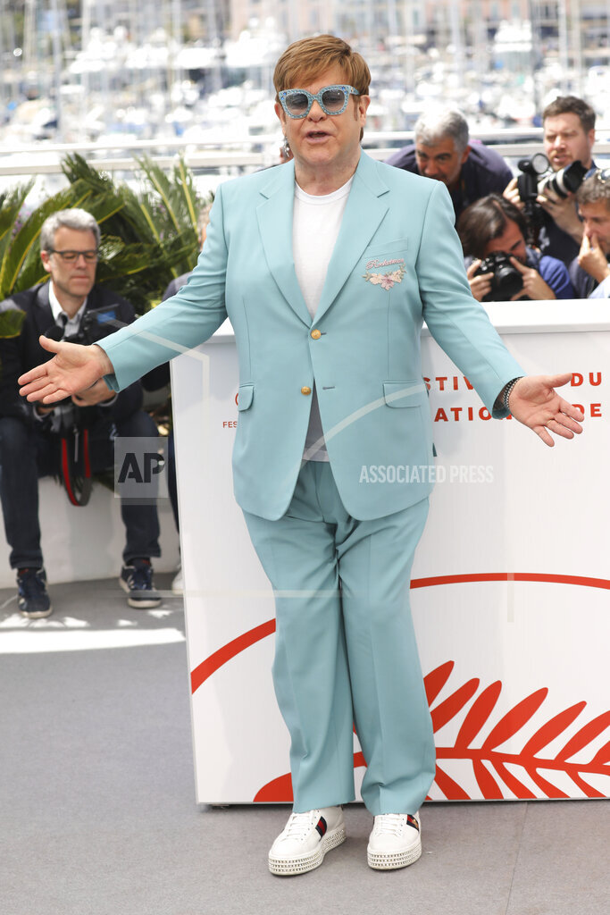 France Cannes 2019 Rocketman Photo Call