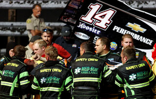 NASCAR Stewart Accident Auto Racing