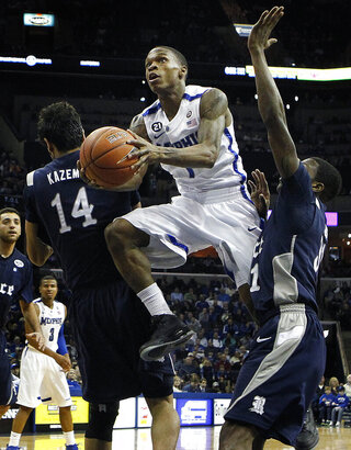 Rice Memphis basketball