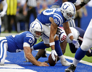 Colts Cleaning Up Football