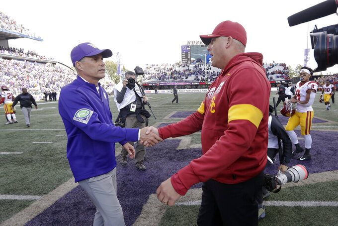 Old rivals meet when USC comes calling at No. 9 Notre Dame