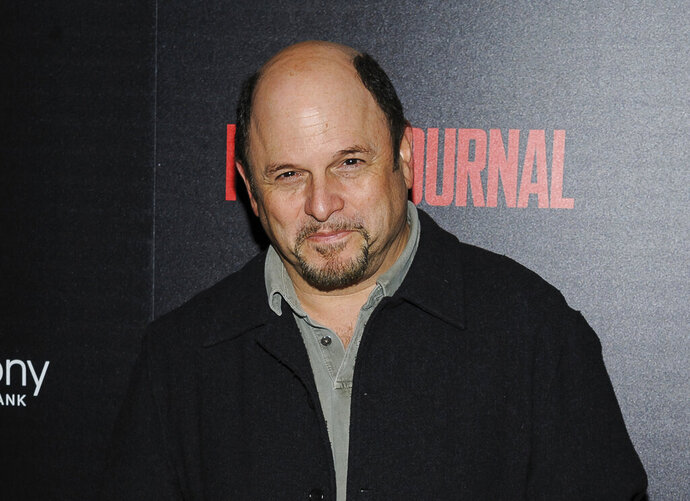 FILE - In this Oct. 30, 2017, file photo, Jason Alexander attends a special screening of Marvel Studios'