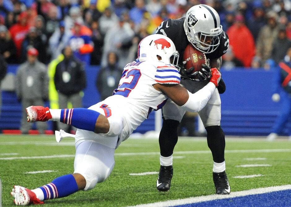 Raiders Bills Football