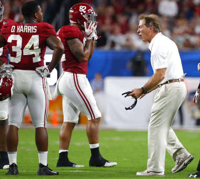 Nick Saban hasn't slowed down, and isn't planning to soon