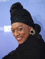 FILE - This Jan. 17, 2009 file photo shows opera singer Jessye Norman at the BET Honors at the Warner Theatre in Washington. Norman died, Monday, Sept. 30, 2019, at Mount Sinai St. Luke's Hospital in New York. She was 74. (AP Photo/Evan Agostini, File)