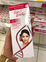 Creams promising fairer and lighter skin are displayed on shelves, July 3, 2020, in Dubai, United Arab Emirates. In the wake of mass protests against racial injustice in the U.S., multinational companies like L'Oreal and Unilever, which makes Fair and Lovely products, are rebranding their skin lightening products in Africa, Asia and the Middle East. (AP Photo/Aya Batrawy)