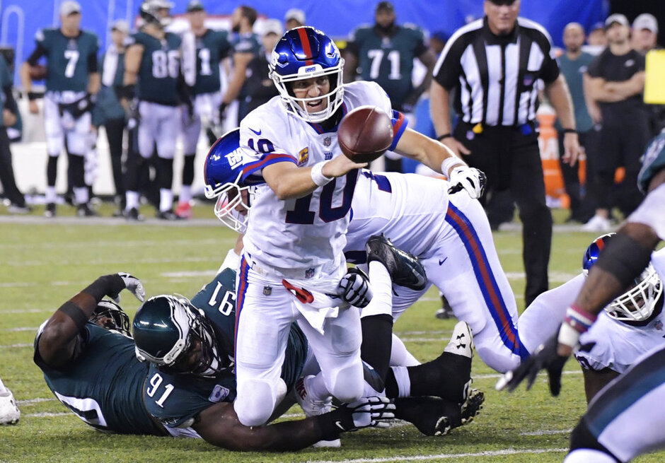 Eagles Giants Football