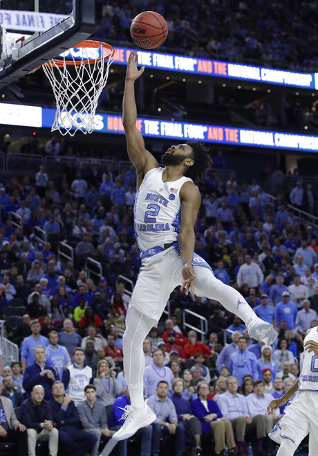 APTOPIX Kentucky North Carolina Basketball